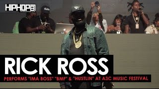 rick ross performs ima boss bmf hustlin at the 2016 a3c festival shot by brian da director