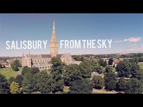 Salisbury From The Sky | DJI Drone Film