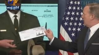 Donald Trump donates first quarter salary to National Park Service