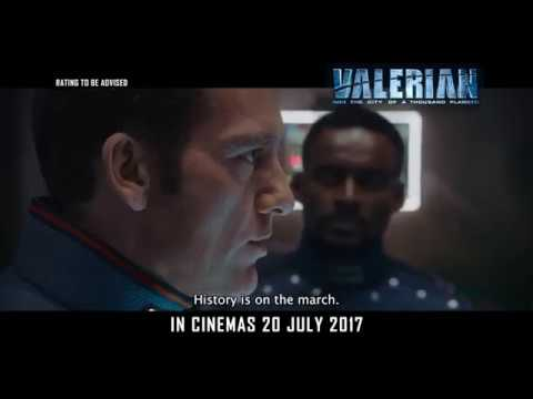 VALERIAN AND THE CITY OF A THOUSAND PLANETS (Official Trailer 2) :: IN CINEMAS 20 JULY 2017 (SG)