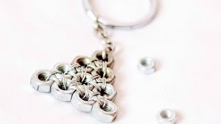 How To Make A Cool Hex Nut Keychain - Diy Style Tutorial - Guidecentral