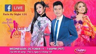 Livestream với Lam Anh, Hà Thanh Xuân, Mai Quốc Huy - giới thiệu show thu hình PBN 124