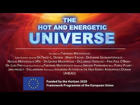 Full Dome Astronomy Video : The Hot and Energetic Universe