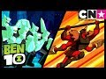 Ben 10 Alien Worlds | FourArms and Diamondhead | Cartoon Network