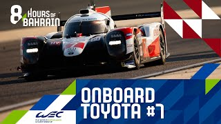 Bapco 8 Hours of Bahrain 2019 - Onboard lap Toyota Hybrid #7