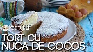 TORT CU NUCA DE COCOS