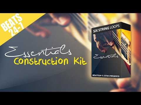 Beat Construction Kit with Live Guitars -
