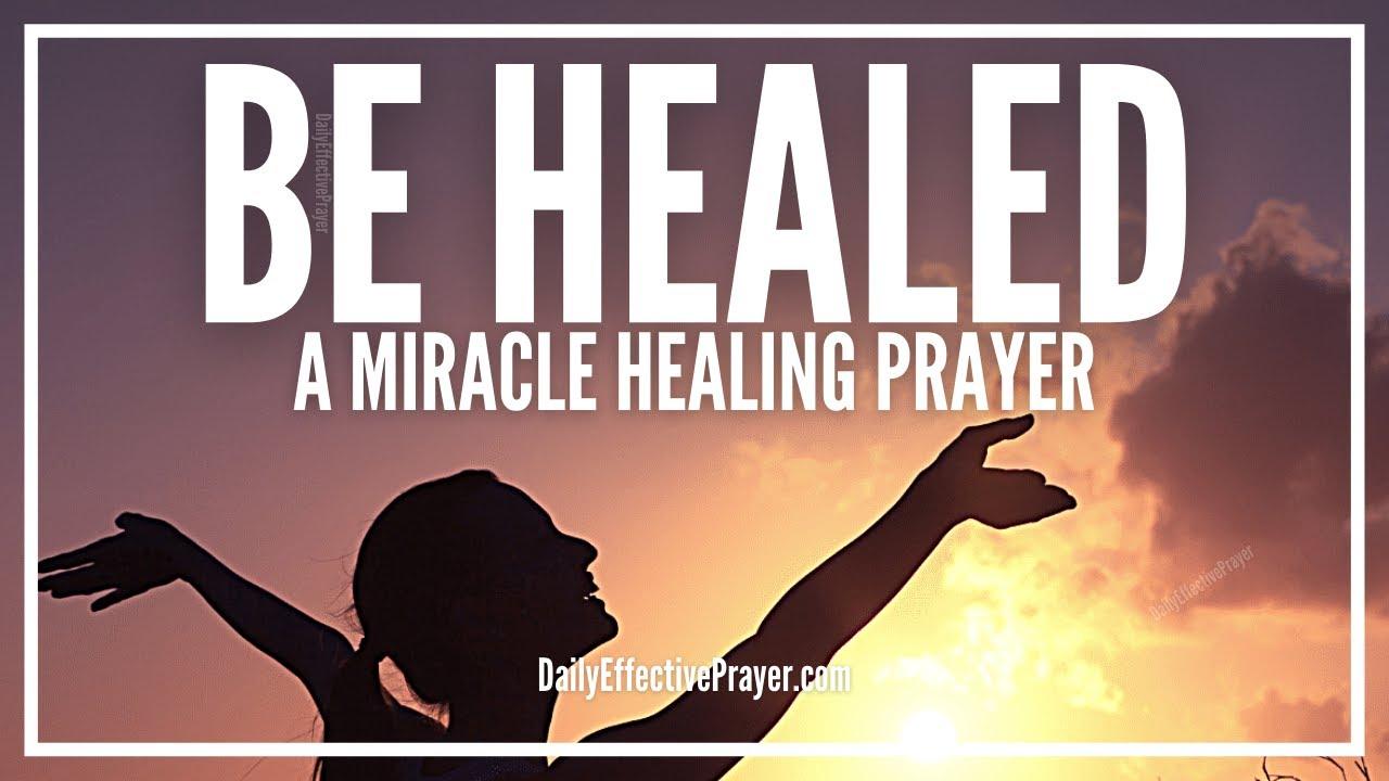 Prayer For Healing Sickness | Short Healing Prayer For The Sick