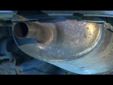 How to Check if a Muffler Is Loose : Under the Car Repairs