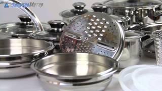 Набор посуды Vinzer Grand Cuisine Glass 89024