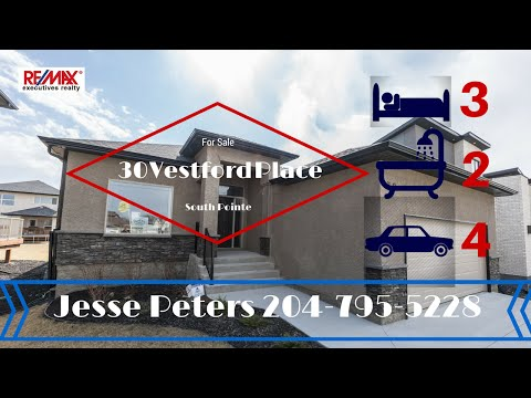 SOLD -  Winnipeg Home For Sale - Jesse Peters - Remax Executives