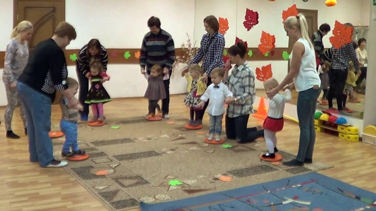 Веселая Зарядка для малышей 2-3 года Детский клуб ...