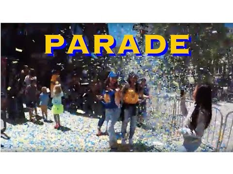 Golden State Warriors 2017 NBA Finals Championship Victory Parade Experience