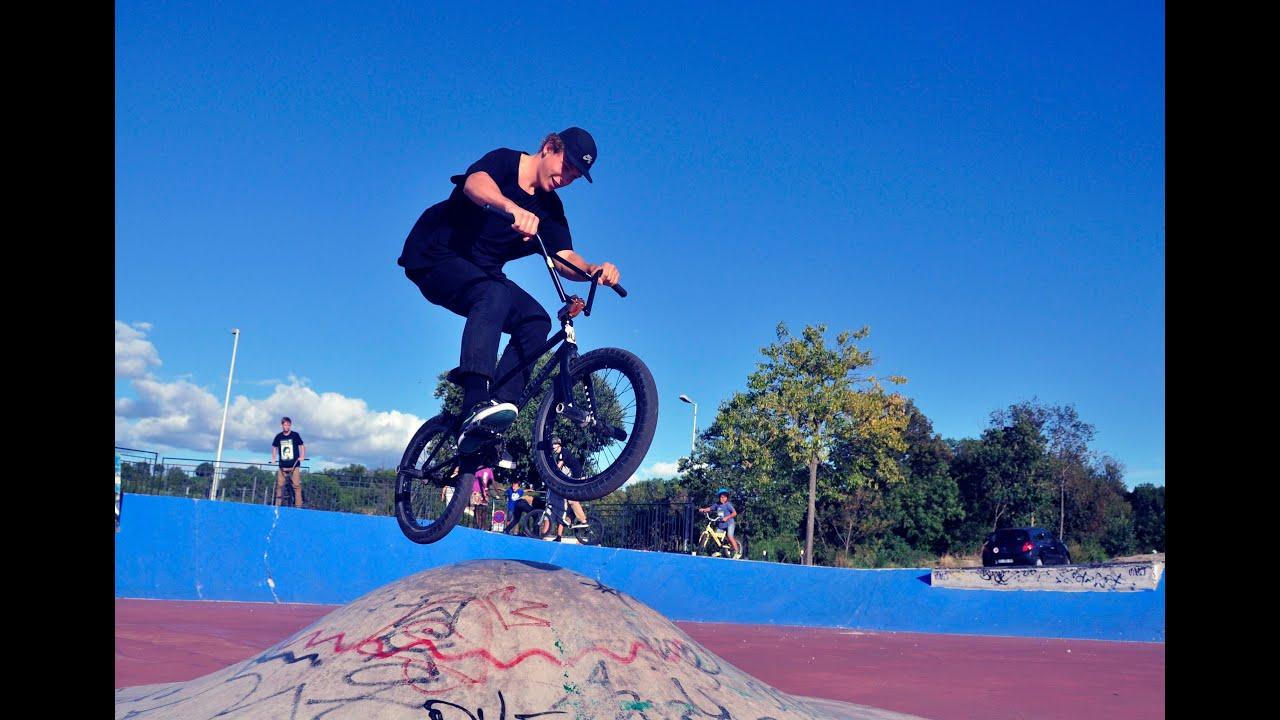 BMX,  Skate, graff et Hip Hop à la Mosson