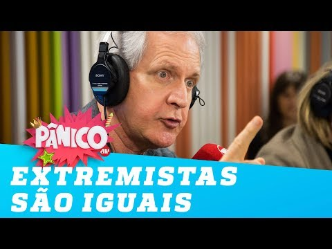 Augusto Nunes: Extremistas de esquerda e direita são iguais