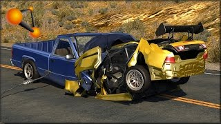 BeamNG Drive Random Vehicle #32 Crash Testing #143