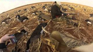 GOPRO HERO GOOSE HUNT LUBBOCK, TX W/ FINAL DESCENT GUIDES