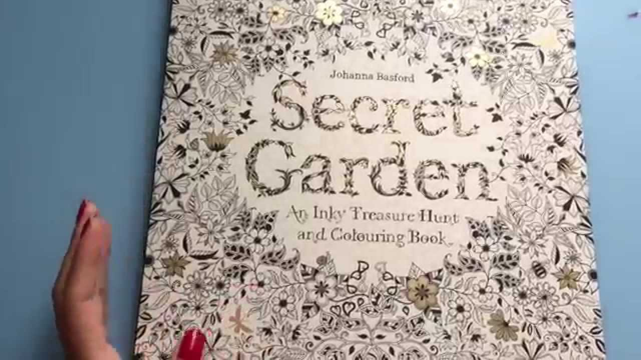 Secret Garden Coloring Book Review : secret garden coloring book review ???? ??? ?? YouTube