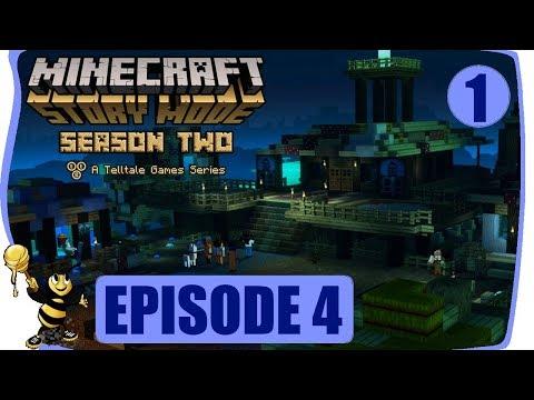 MINECRAFT STORY MODE SEASON 2 Gameplay Walkthrough EPISODE 4 PART 1 Underneath