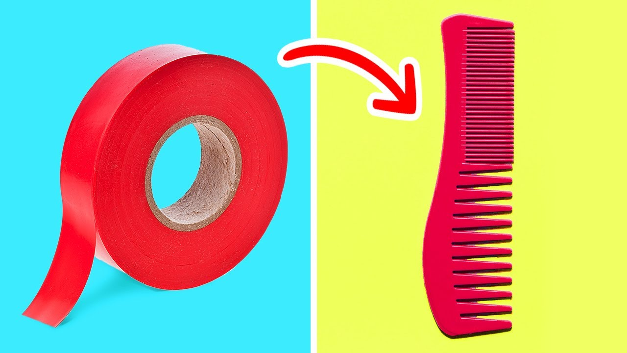 35 COOL HACKS WITH SCOTCH TAPE || Useful Tricks For Everyday Life by 5-Minute Recipes!
