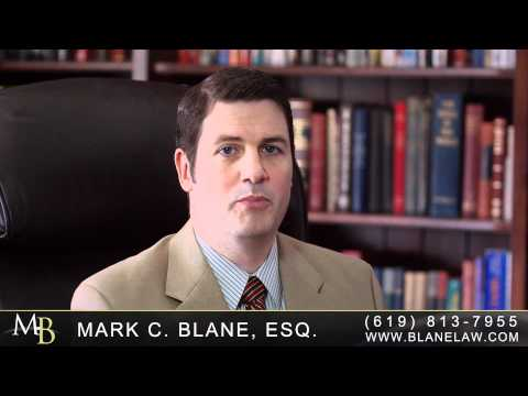 San Diego Personal Injury & Accident Attorney Mark C. Blane briefly explains what the different burdens of proof are in a California injury vs. criminal trial. He explains what the plaintiff and defendant have to prove, and to what degree. If you want more information you can visit http://www.blanelaw.com, which contains FREE books, blogs, articles and tons of information on your particular injury or interest; you can also call (619) 813-7955. You can also check out Attorney Blane's Spanish Youtube Channel at: http://www.youtube.com/abogado1california