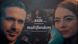 multicouples | exile - taylor swift (ft bon Iver)