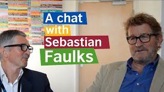 A chat with Sebastian Faulks