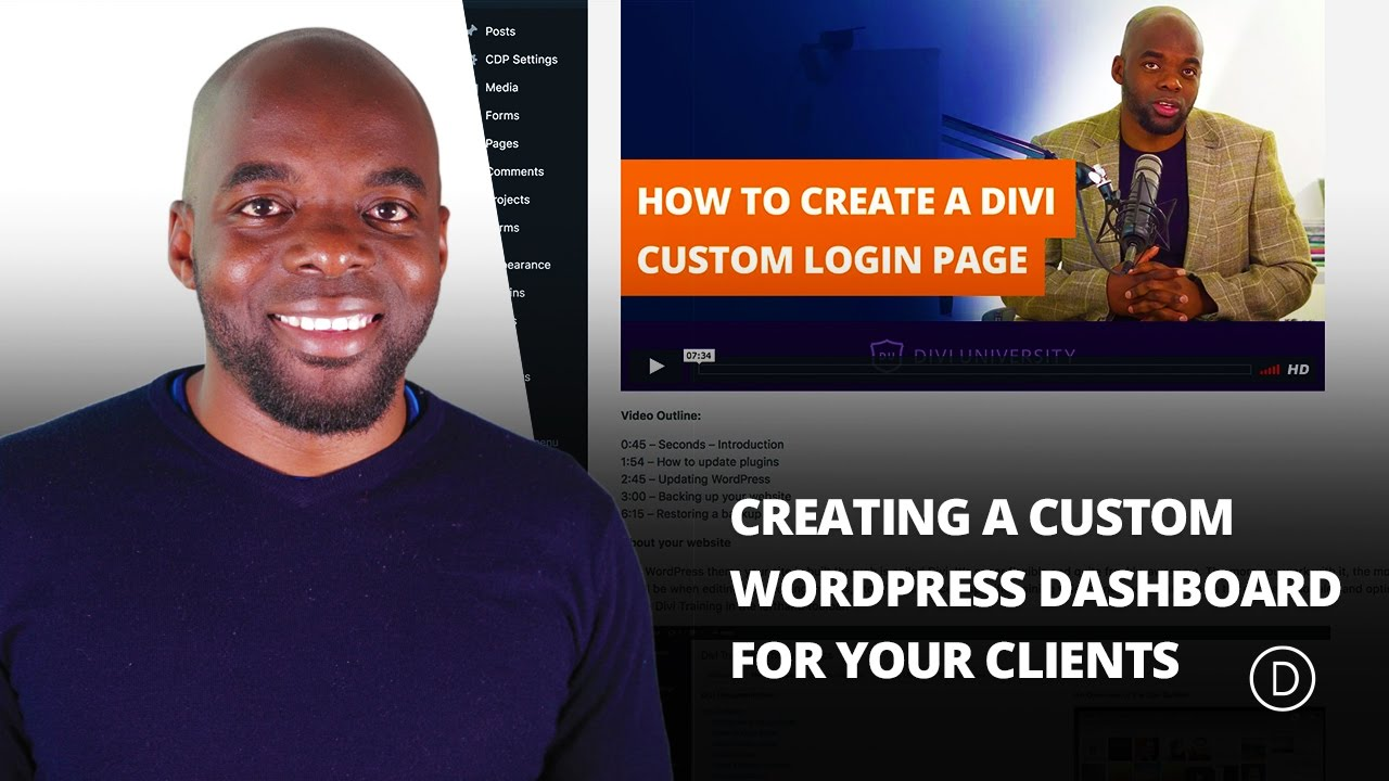 Creating a Custom WordPress Dashboard for Your Clients
