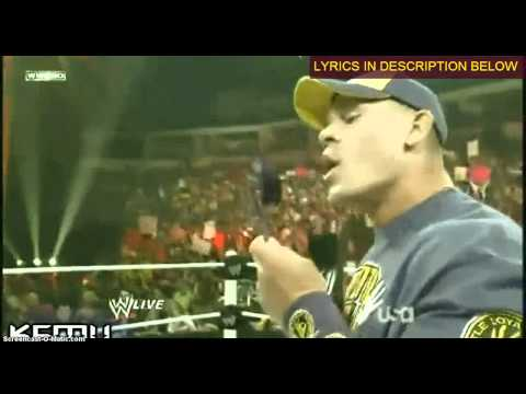 WWE : John Cena's Rap to The Rock on RAW (KayfabeMashUpz Remix)