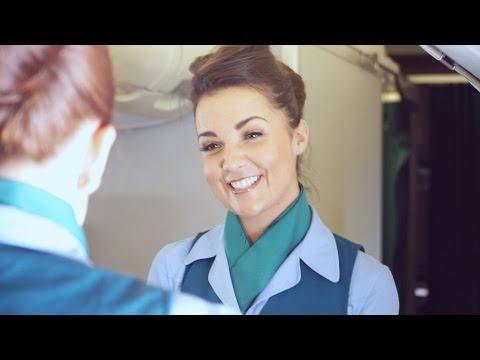 Aer Lingus Cabin Crew Video | Dublin to New York | Inaugural EWR Flight