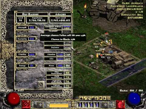 Diablo 2 amazone beste skillung