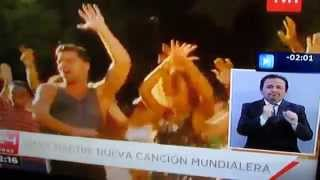 Interprete de lenguaje de señas de TVN