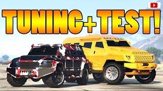 🤑Das Beste Neue FluchtAuto?! HVY NIGHTSHARK Tuning + Test!🤑 [GTA 5 Online Gunrunning Update DLC]