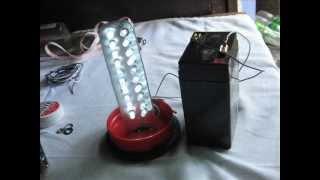 diy 6 volts led lamp