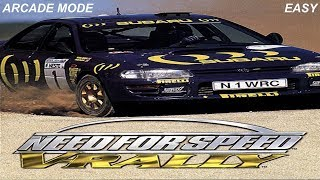 Need For Speed V Rally PS1 Arcade Mode part 4 (Easy)
