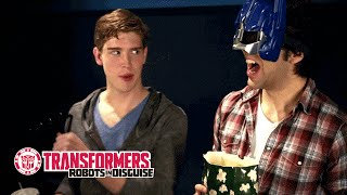 TRANSFORMERS Toys 3D Cine-Masks Commercial: Odd Man Out