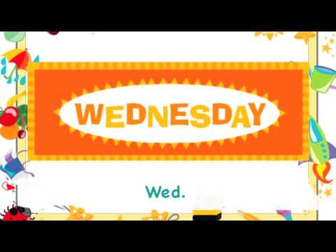 Abbreviation Months Days Titles Etc Youtube