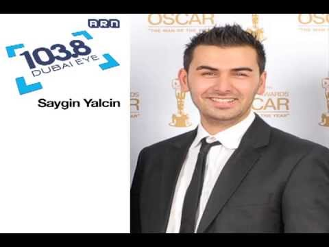 Saygin Yalcin on Tonight Show - Radio Dubai Eye 103.8 - Entrepreneurship in Dubai