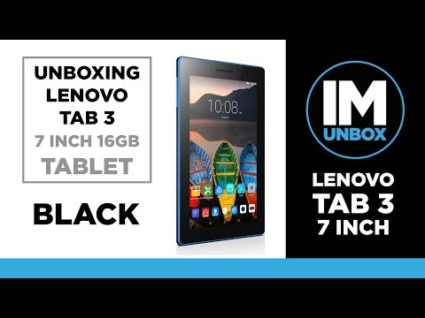 Lenovo Tab 3 16GB Unboxing | 7 Inch Tablet | 2017