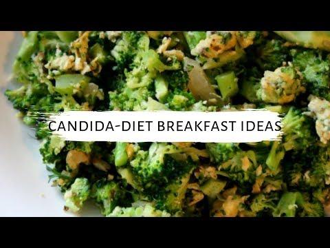 Candida Diet Breakfast Ideas Using Eggs || Vegetarian, Gluten And Dairy Free