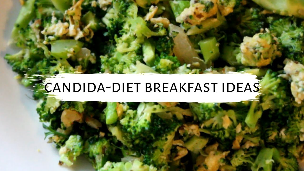 Candida Breakfast Ideas using Eggs || Vegetarian, Gluten and Dairy Free
