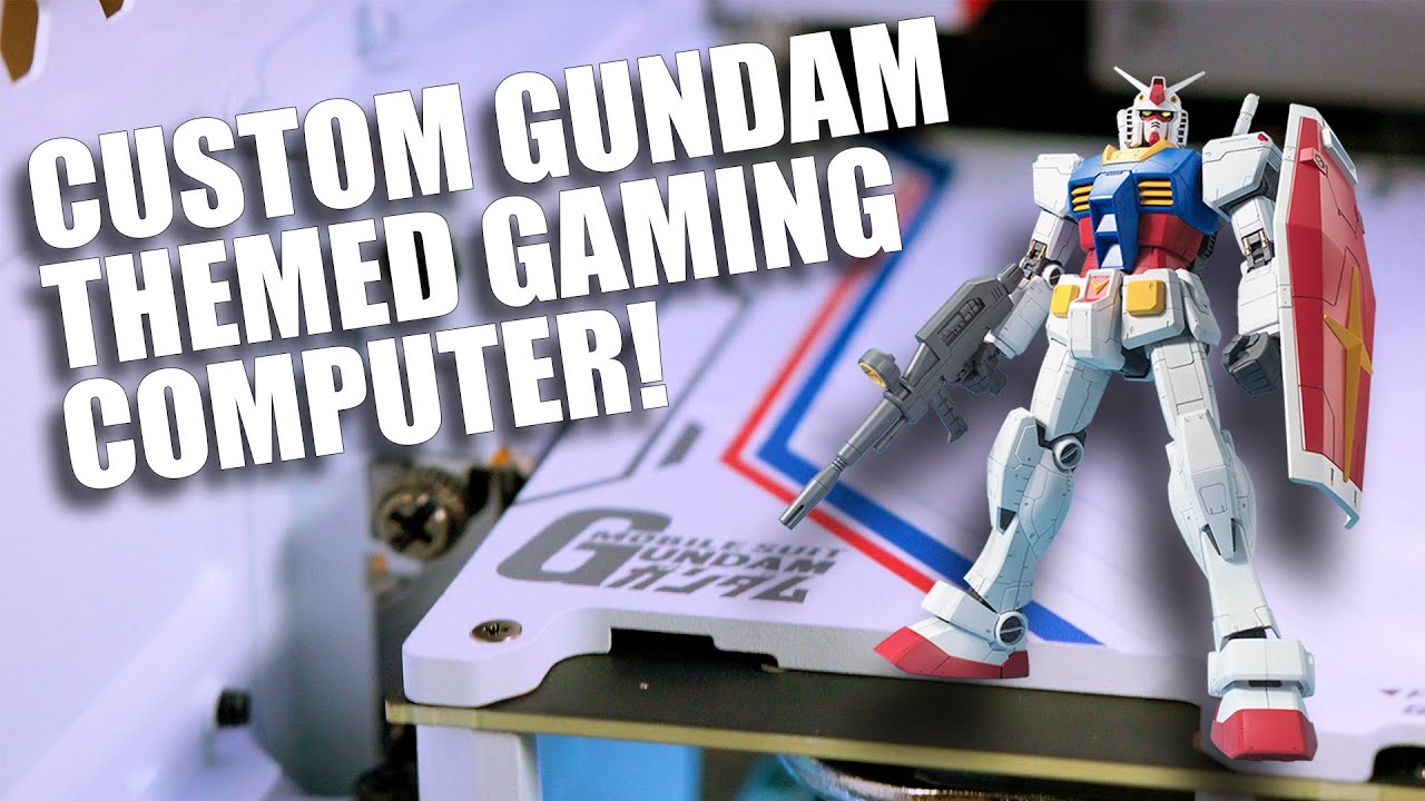The Gundam Themed Gaming PC... you didn't know you wanted this until now!