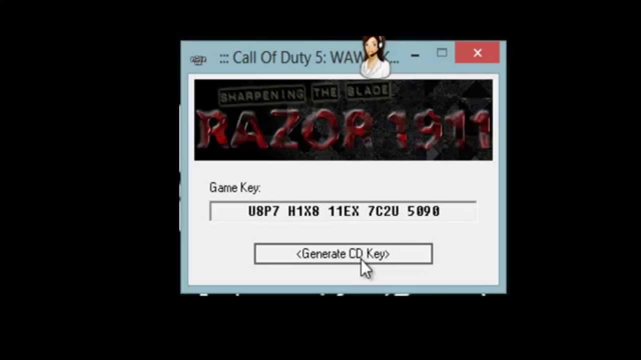 download keygen call of duty world at war
