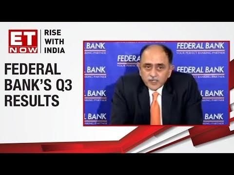 Federal Bank CEO Shyam Srinivasan, addresses media on their Q3 Earnings