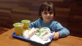 Hamburger patates limonata muhteşem üçlü  Eğlenceli çocuk videoları.