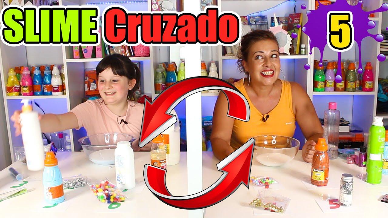 SLIME CRUZADO CHALLENGE 5 !!
