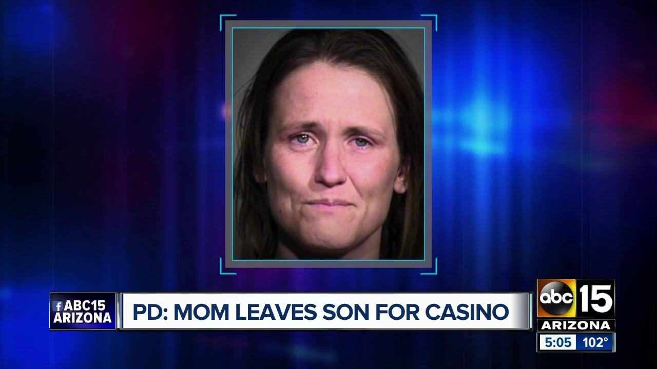 White Mom leaves child at Peoria McDonald's to go to the casino