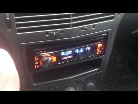 Рамка 1DIN магнитола Opel Astra H