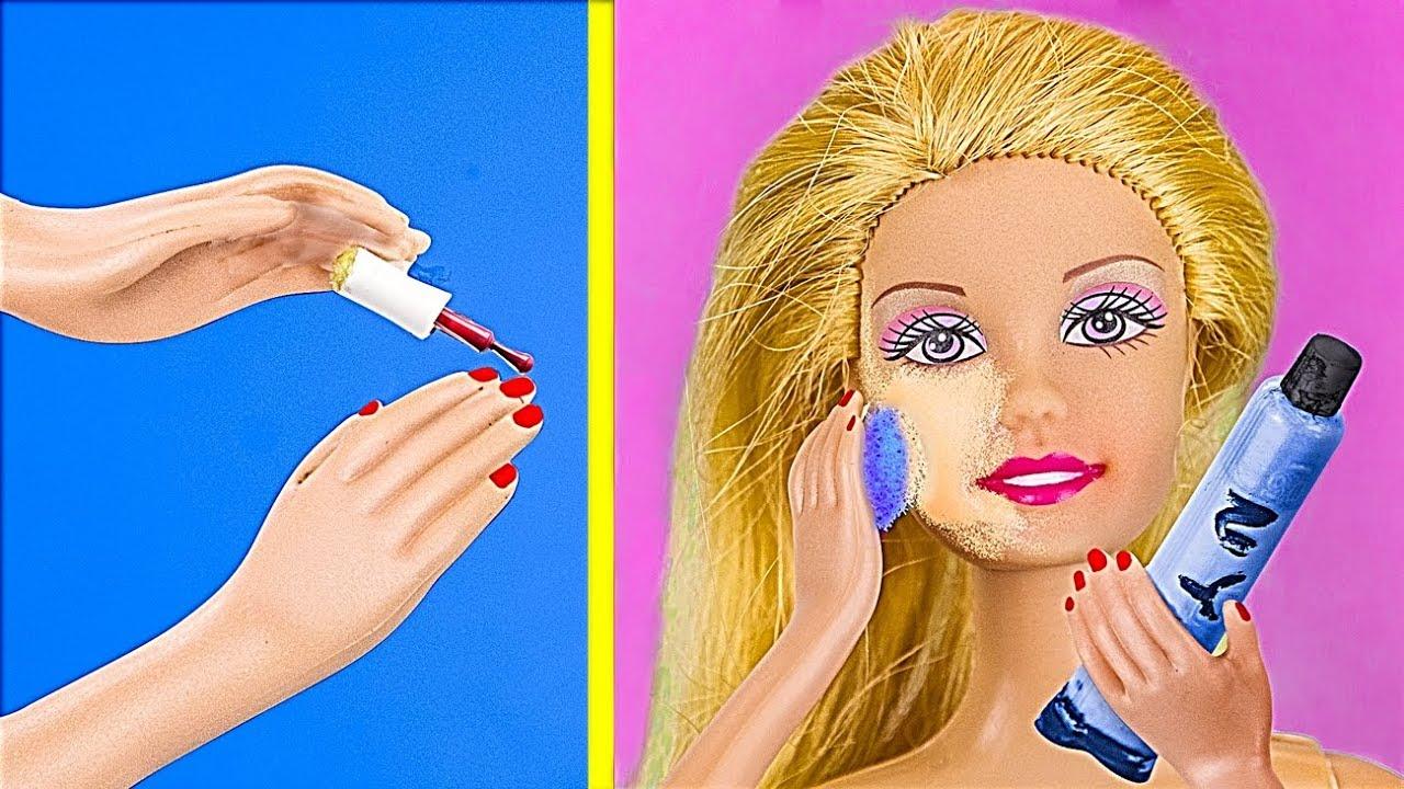 18 лайфхаков для куклы Барби