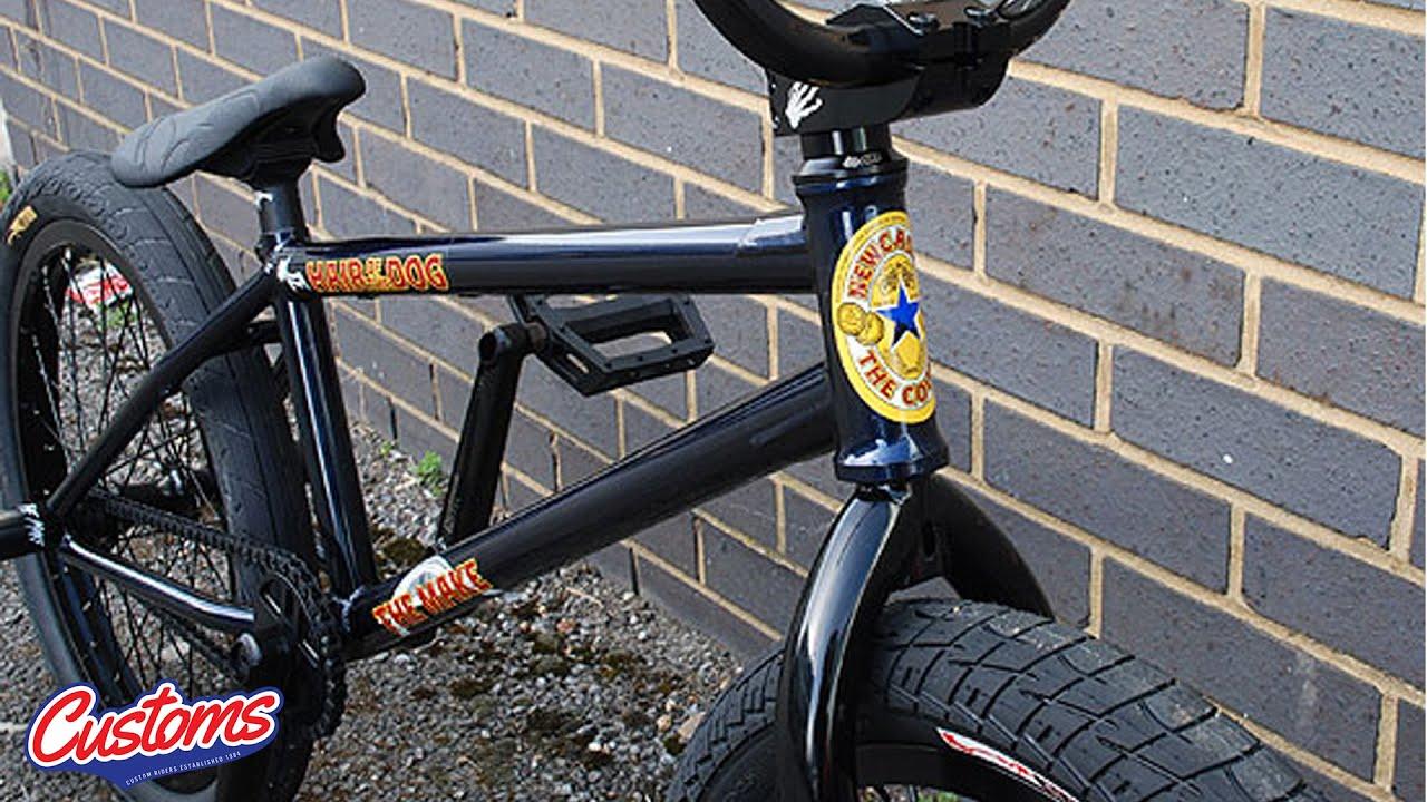 the make custom bmx bike check youtube